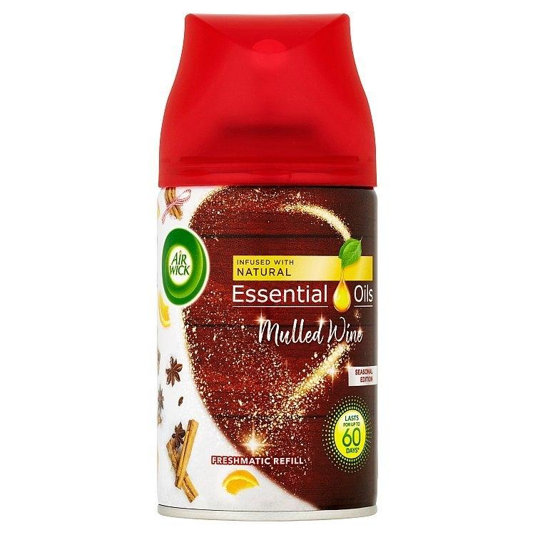 Airwick Freshmatic Essential Oils náhradní náplň do osvěžovače vzduchu - Svařené víno 250 ml