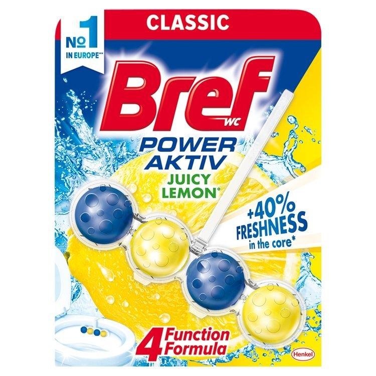 Bref Power Aktiv 4 Formula Lemon WC blok 50 g