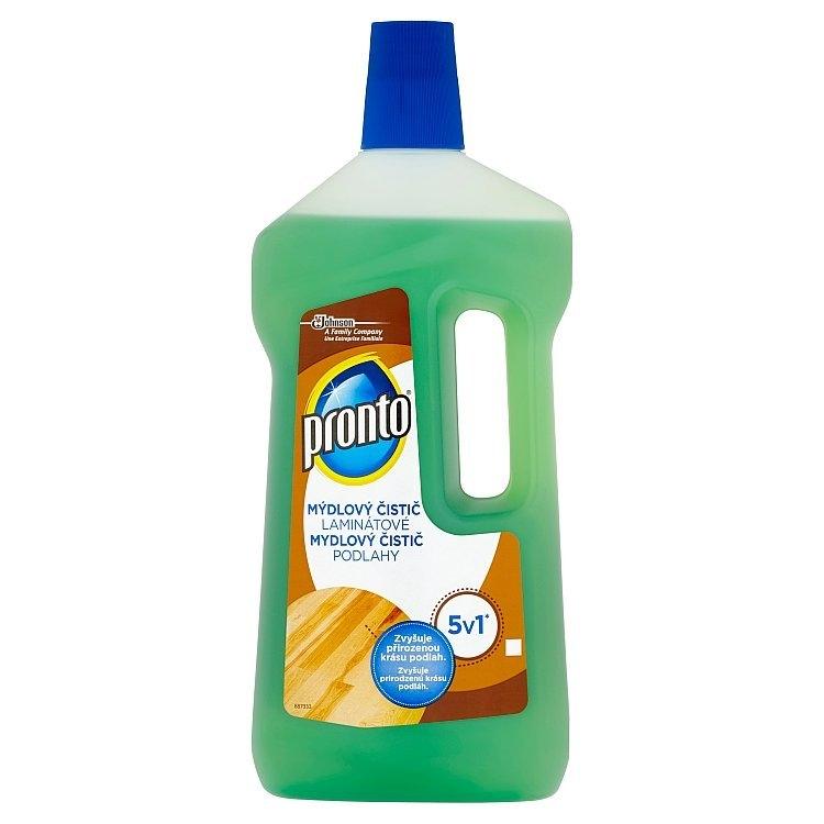 Pronto 5v1, mýdlový čistič laminátové podlahy 750 ml