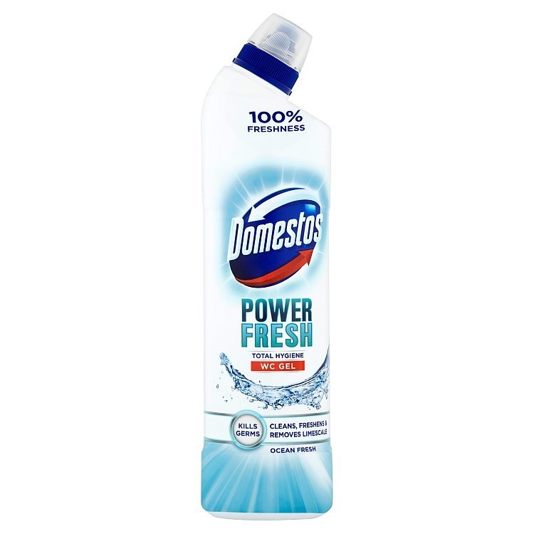 Domestos Total Hygiene Ocean Fresh WC desinfekční gel 700 ml