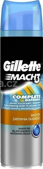 Gillette Mach3 Close&Smooth 200ml gel