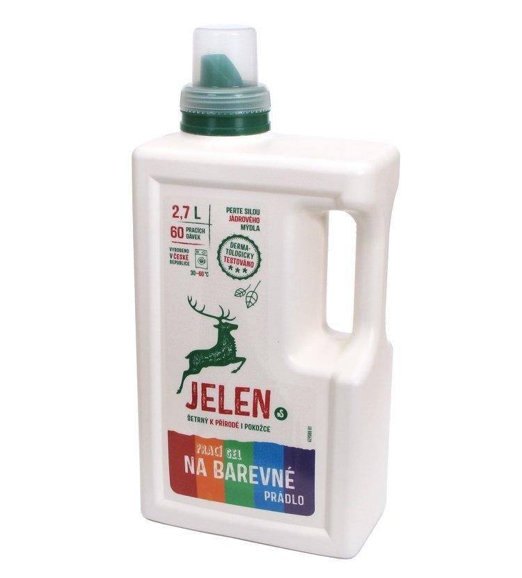 Jelen Prací gel na barevné prádlo 2,7 l (60 praní)