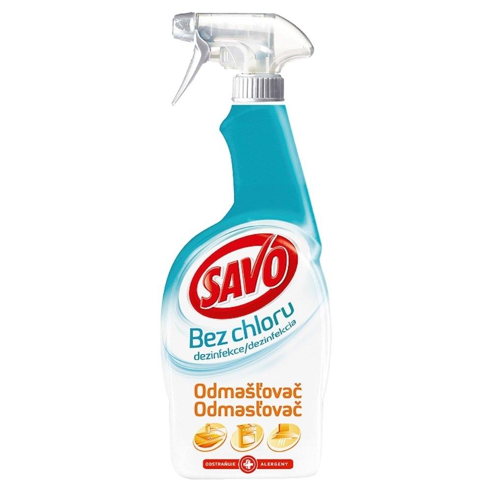 Savo Odmašťovač dezinfekční sprej bez chloru 700 ml