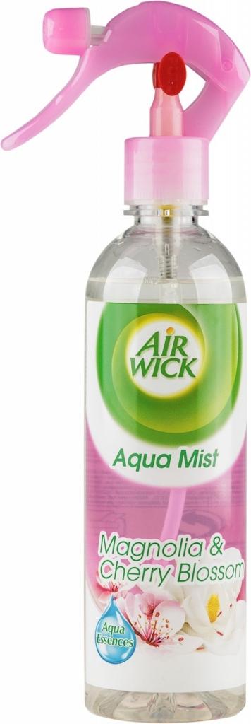 Airwick Aqua Mist Osvěžovač vzduchu Magnolie a kvetoucí třešeň 345 ml