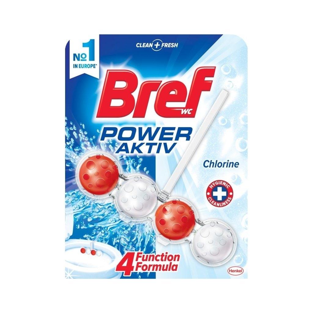 Bref Power Aktiv 4 Formula Chlorine WC blok 50 g