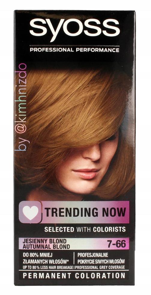 Syoss Trending Now barva na vlasy Podzimní blond 7-66