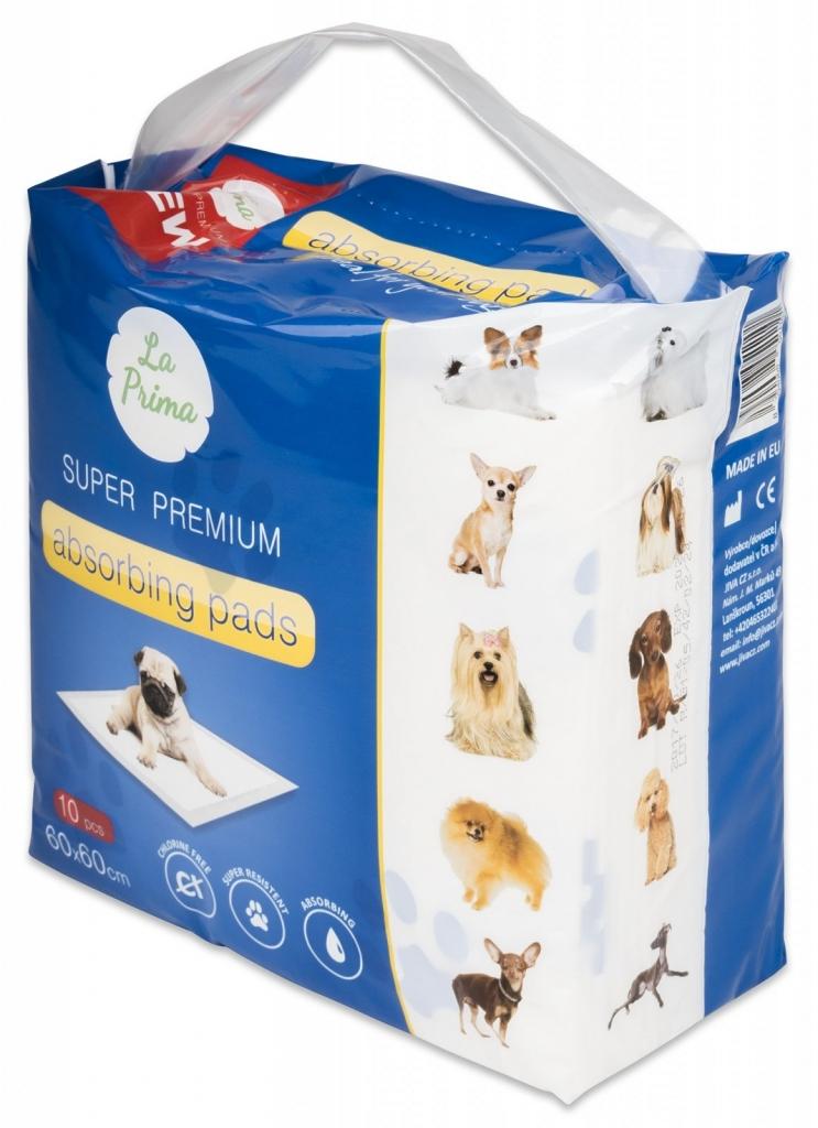 La Prima Podložky pro psy a domácí zvířata 60x60 cm 10 ks