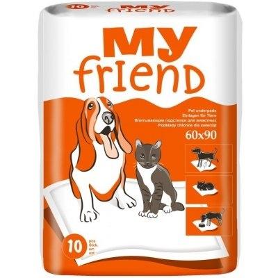 My friend Podložky pro psy a domácí zvířata 90x60 cm 10 ks