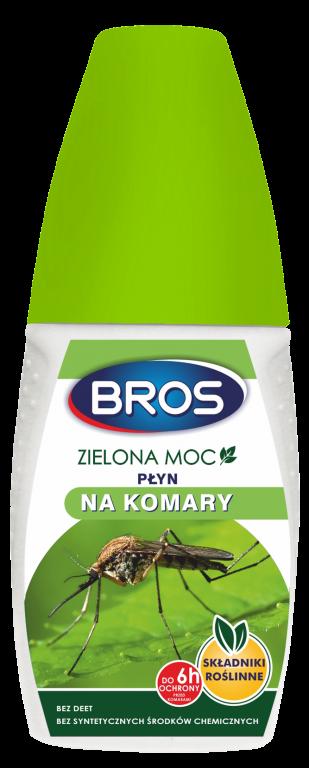 BROS repelentní sprej Zelená síla proti komárům a klíšťatům 50 ml