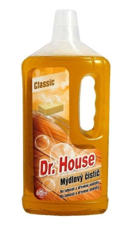 Mýdlový čistič na podlahy Classic 750 ml