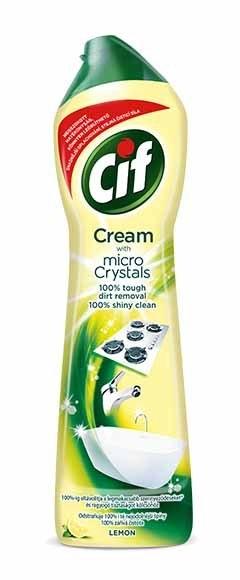 Cif Cream Lemon krémový čisticí písek 500 ml