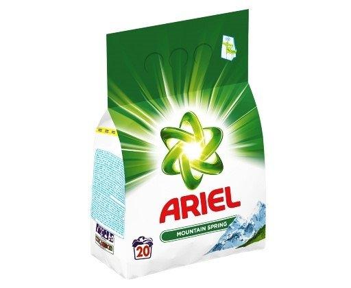 Ariel Mountain Spring prací prášek 1,5 kg (20 praní)