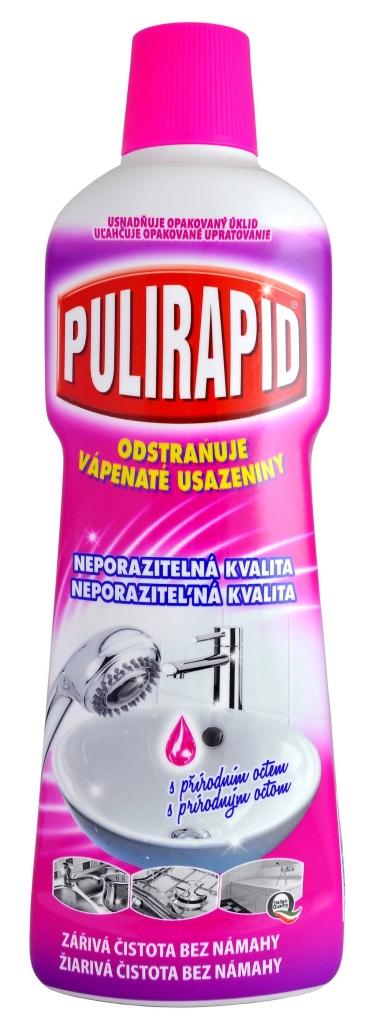 PULIRAPID Pulirapid Aceto na rez a vodní kámen 750 ml