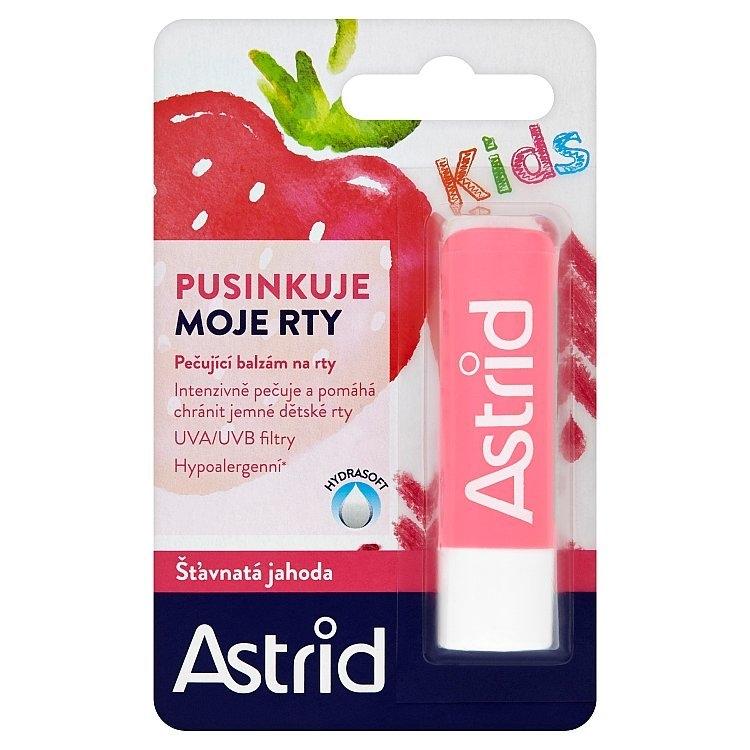 Astrid balzám na rty Šťavnatá jahoda Kids 4,8g