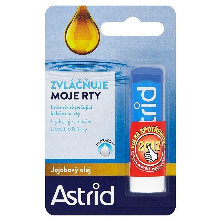 Astrid balzám na rty s jojobovým olejem 4,8g