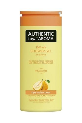 Authentic toya Aroma Authentic Toya Aroma Ripe Asian Pear aromatický sprchový gel 400 ml