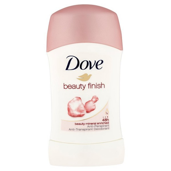 Dove Beauty Finish tuhý antiperspirant 40 ml