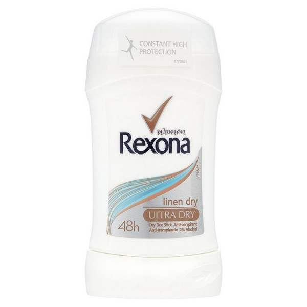 Rexona Women Ultra Dry tuhý antiperspirant 40 ml