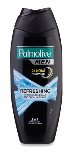 Palmolive Men Refreshing 2 v 1 sprchový gel a šampon 500 ml