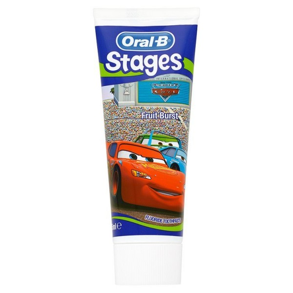 Oral-B Stages Fruit burst zubní pasta s fluoridem 76 ml