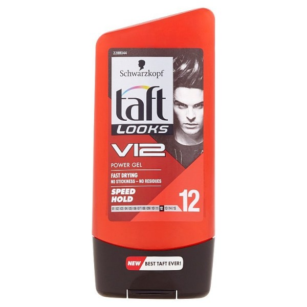 Taft Looks V12 Speed stylingový gel 150 ml