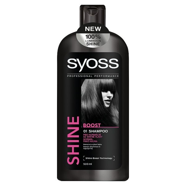 Syoss Shine Boost šampon  500 ml