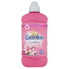 Coccolino Creations Tiare Flower & Red Fruits aviváž, 1,45 l (58 praní)