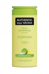 Authentic toya Aroma Authentic Toya Aroma Ice Lime & Lemon aromatický sprchový gel 400 ml