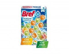 Bref Perfume Switch Peach-Red Apple 3 x 50 g