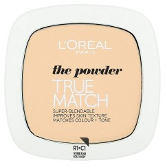 L'Oréal Paris True Match Rose pudr Ivory C1, 9 g