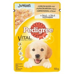 Pedigree Vital Protection Junior kapsička kuřecí s rýží v želé 100 g
