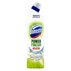 Domestos Total Hygiene Lime Fresh WC desinfekční gel 700 ml