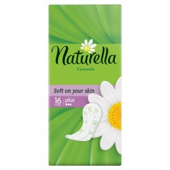 Naturella Camomile Plus extra protection daily intimky deo 16 ks/bal.