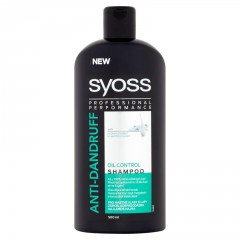 Syoss šampon Anti-Dandruff Oil Control  500ml