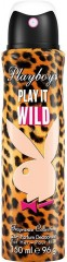Playboy Play It Wild for Her deodorant sprej pro ženy 150 ml