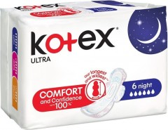 Kotex Ultra Night 6 ks