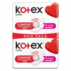 Kotex Ultra Super Duo Pack 12 ks