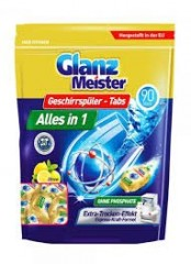 Glanz Meister Dishwasher tablety do myčky 90ks 1440g