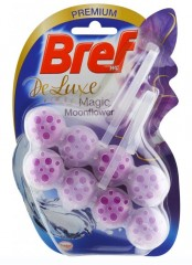 Bref DeLuxe Magic Moonflower tuhý WC blok, 2 × 50 g