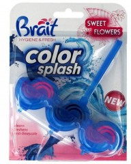 Brait kostka do WC color splash NEW Sweet Flowers 45 g