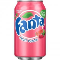 Fanta Fruit Punch 355ml (USA)