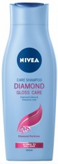 Nivea Diamond Gloss Care pečující šampon, 400 ml