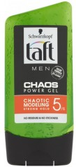 Taft Men Chaos Power Gel gel na vlasy, 150 ml