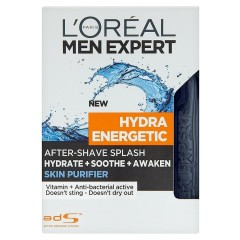 L'Oréal Paris Men Expert Hydra Energetic Skin Purifier voda po holení  100 ml
