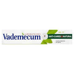 Vademecum Anti Caries & Naturel Zubní pasta  75 ml