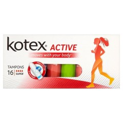 Kotex Active Super tampony 16 ks