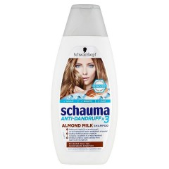 Schauma Anti-Dandruff X3 šampon Almond Milk 400 ml